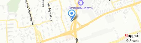 Тепло РОСС на карте Алматы