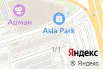 Схема проезда до компании Siluet в Алматы
