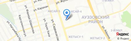 Байкал на карте Алматы