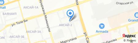 Цирюльня на карте Алматы