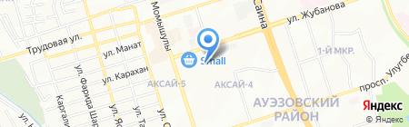 ALSER на карте Алматы
