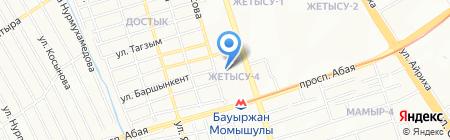 Сары-Арка на карте Алматы
