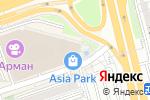 Схема проезда до компании MegaTel в Алматы