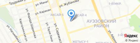 Райхан продуктовый магазин на карте Алматы
