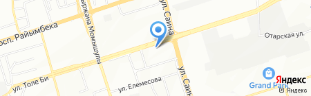 Mouse на карте Алматы