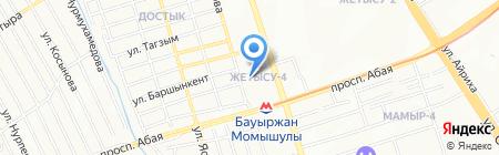 Игилик продовольственный магазин на карте Алматы