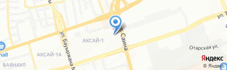Дос Курылыс ТКД на карте Алматы