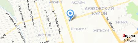 Эйфория на карте Алматы