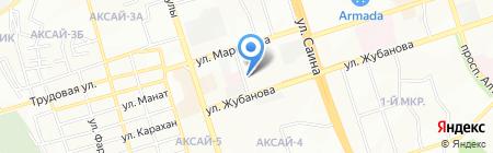 Стоматология на карте Алматы