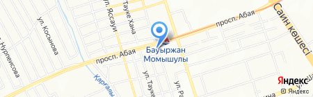 Малик на карте Алматы