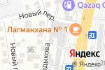 Схема проезда до компании ARSENAL в Алматы