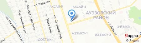 Изюм продуктовый магазин на карте Алматы