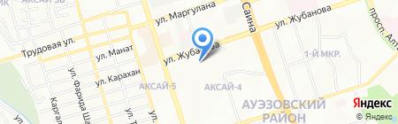 Ак-Орда на карте Алматы