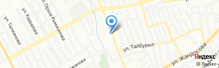 Алшын на карте Алматы