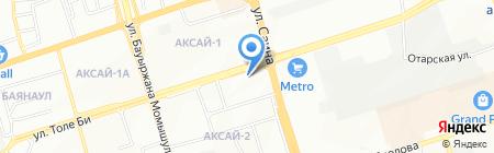 Альтернатива на карте Алматы
