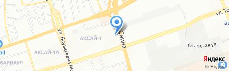 Участковый пункт полиции №35 Ауэзовского района на карте Алматы