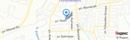 Жулдыз продовольственный магазин на карте Алматы
