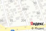 Схема проезда до компании Новый стиль в Алматы
