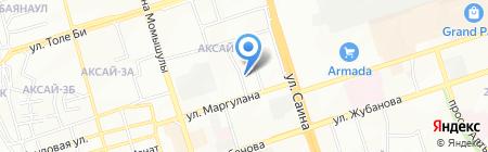 Гармония на карте Алматы