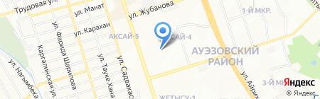Happy Island на карте Алматы