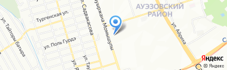 САЛБЕН на карте Алматы