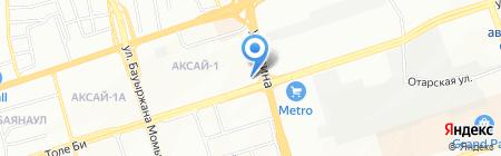 Управление юстиции Ауэзовского района г. Алматы на карте Алматы