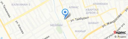 АгроЭкспо-2030 на карте Алматы
