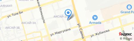 Кристал на карте Алматы