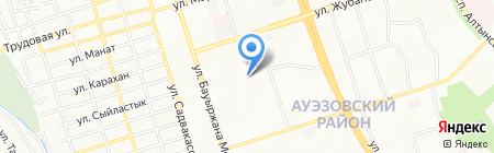 Аксай сантехсистем на карте Алматы