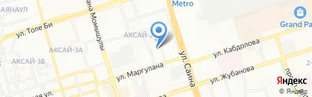 Даулет продуктовый магазин на карте Алматы