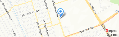 Все для студентов на карте Алматы