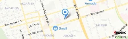 Сервисная фирма на карте Алматы