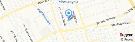 Продуктовый магазин на ул. Виноградова на карте Алматы