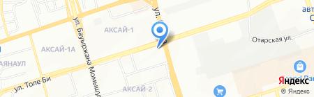 Клиника Кайназарова на карте Алматы