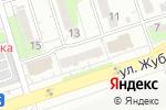 Схема проезда до компании Катюша в Алматы