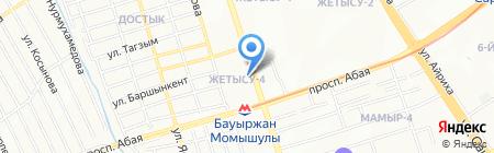 New wave.kz на карте Алматы