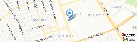 Фарма-сервис на карте Алматы