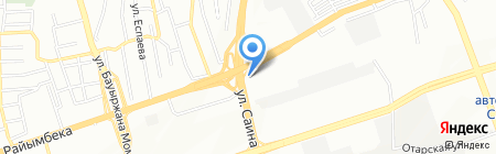 Ремонтная мастерская на карте Алматы