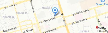 Zodiac на карте Алматы