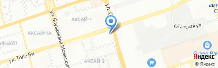 Даркем на карте Алматы