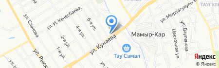 Дэстур на карте Алматы