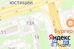 Схема проезда до компании Obsidian в Алматы