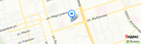 Amanas на карте Алматы