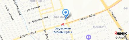 Ася на карте Алматы