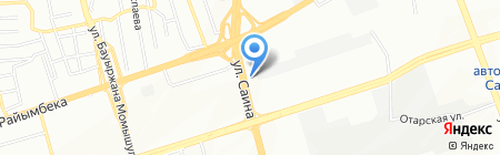 Раушан на карте Алматы