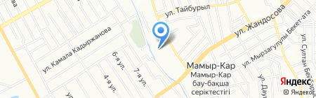 Гарант-ТТ на карте Алматы
