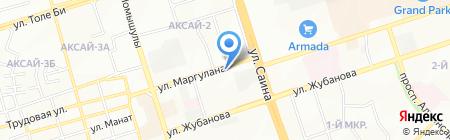 Vernal на карте Алматы