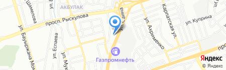 Дос секьюрити на карте Алматы
