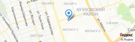 Тас-Арал на карте Алматы