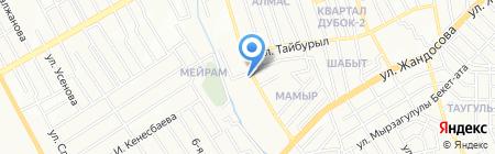 Dostar Media Group на карте Алматы